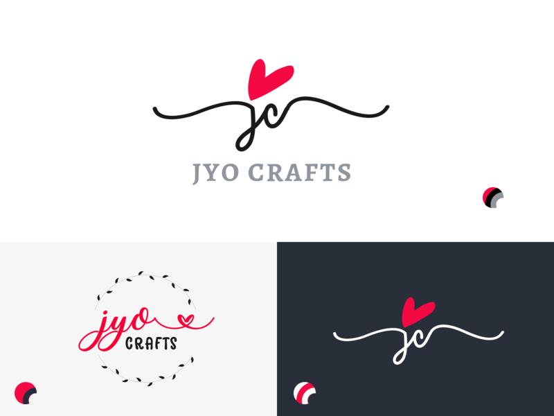 Jyo Crafts Logo Concept For Craft Store By Santosh Kumar