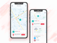 Mobile app concept for Delivery Executive