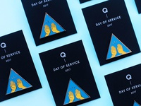 Day of Service Pins