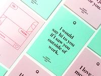 Q Valentine's Day Cards