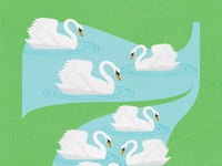 7 Swans-A-Swimming