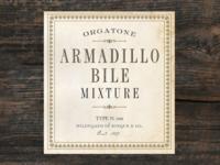 Armadillo Bile