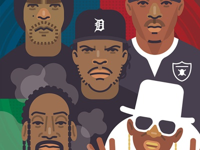 90s Hip-Hop star film movies mtv radio vinyl gig posters public enemy ice t ice cube old school rap music protest hiphop blacklivesmatter