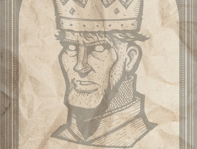 DEAD KINGS: Henry V abbey westminster characterdesign portrait shakespeare european europe tourism travel pub poster art history drama history paris london french english france england