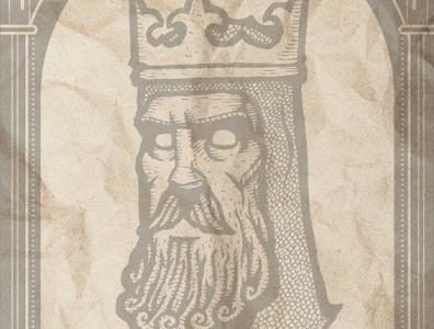 """DEAD KINGS: """"Saint"""" Louis IX statue ghost stl controversial art history prints art poster catholic religious notredame historic paris france st. louis stlouis louis saint"""