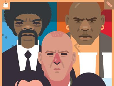 Pulp Fiction retro los angeles history crime samuel l jackson tarantino 90s classic soundtrack film movie