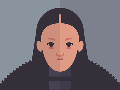 Lyanna Mormont fire ice vector print poster movies film tv thrones game