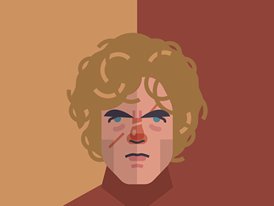 Tyrion Lannister  fire ice vector print poster movies film tv thrones game