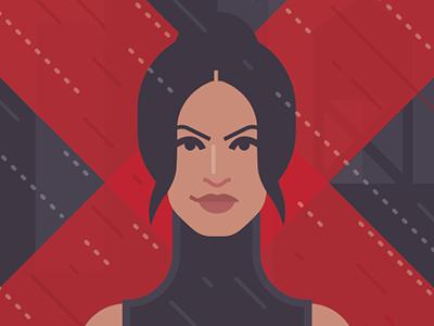 Elektra punisher hero superhero movie tv novel graphic books book comic daredevil