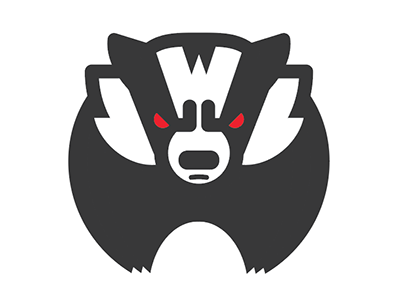 Wisconsin Badger icon madison college sports football basketball badgers wisconsin