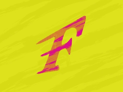 F by Jeffrey Herrera via dribbble