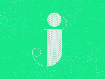 J by Jeffrey Herrera via dribbble