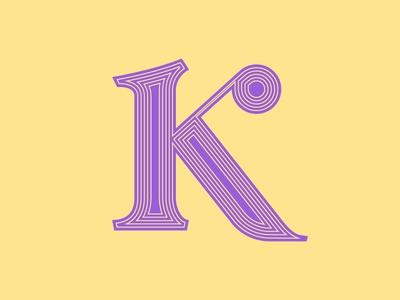 K by Jeffrey Herrera via dribbble