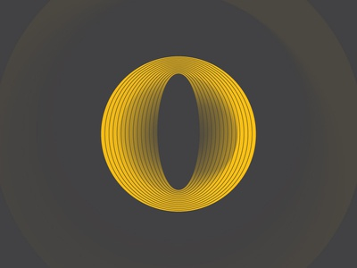 O by Jeffrey Herrera via dribbble