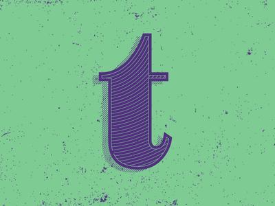 T by Jeffrey Herrera via dribbble
