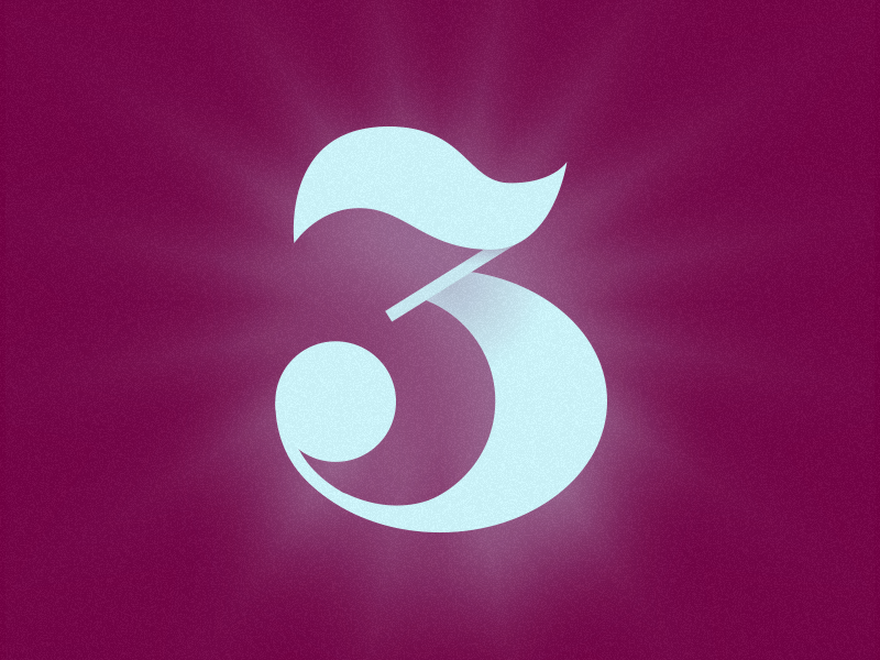 3 typography typehue number letter