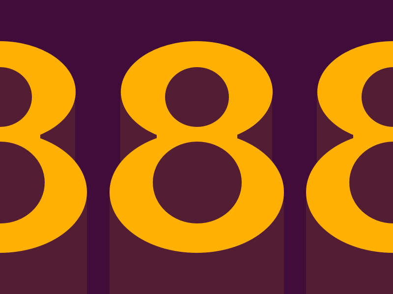 8 typography typehue number letter