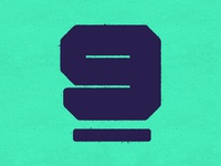 9 typography typehue number letter
