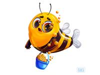 Bee for Mermay game design game character cg character design illustration vector monster cartoon concept art art game art character