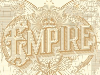 New Humanist Cover Empire Issue cover magazine lettering vintage