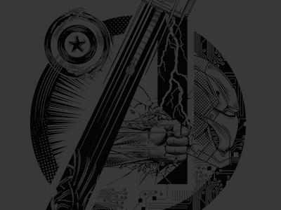Avengers Tee Design comic book comic vector t-shirt shirt tee avengers