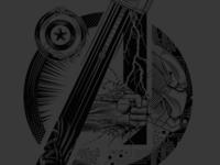 Avengers Tee Design