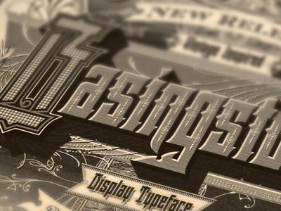 Basingstoke Poster basingstoke typography sanborn inspired vector vintage