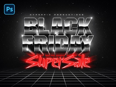 80s Black Friday Text and Logo Effect outrun psd template 80s logo psd mockup vintage retro 1980s title text styles template mock-up logo download text style text effect black friday vaporwave synthwave 80s psd
