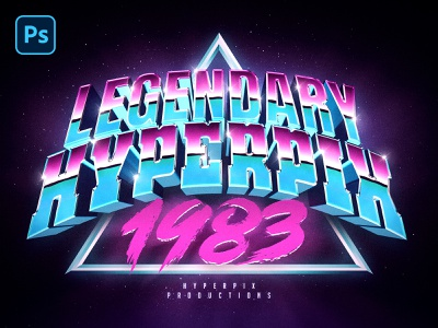 3D 80s Text and Logo Effect Vol.4 album cover album artwork album art synthpop synthwave 1980s 80s vaporwave futurewave synth typography template mock-up text styles photoshop text effect mockup logo download psd
