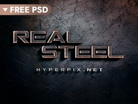[FREE DOWNLOAD] 3D Metal Text Effect