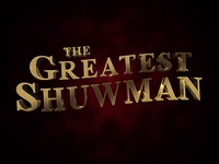 The Greatest Showman 3D Text Effect