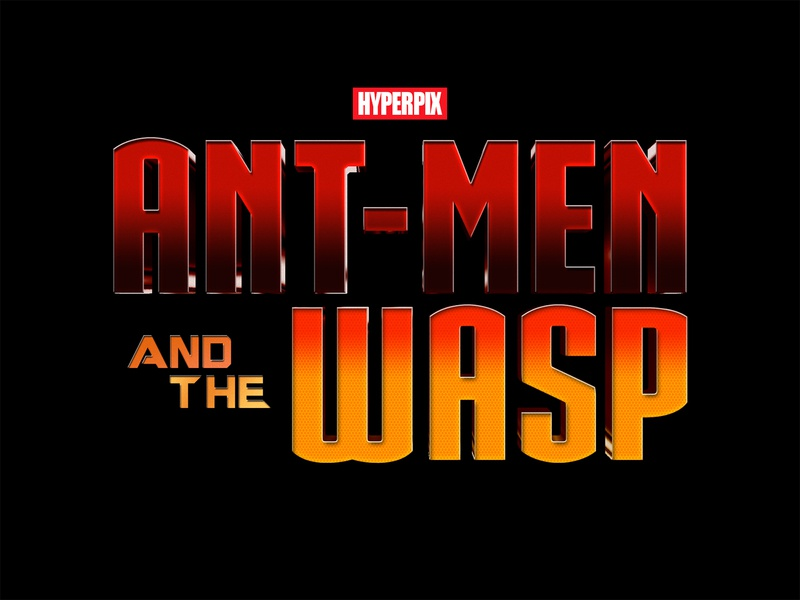 Ant Man And The Wasp 3d Text Effect by Hyperpix Studio on