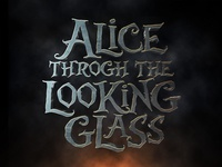 Alice Through The Looking Glass Text Effect