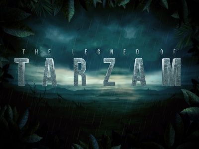 Tarzan Text Effect typography hollywood 3d text cinematic forest intro jungle tarzan title film movie download mock-up psd logo template text effect text styles photoshop mockup
