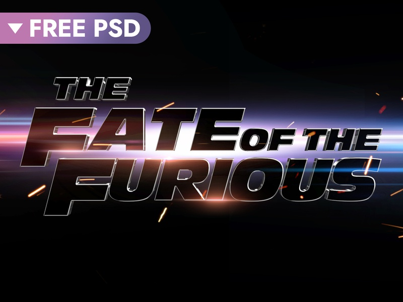 [FREE DOWNLOAD] Fast And Furious Cinematic 3D Text Effect fast hollywood cinematic 3d text movie freebie free design title 3d typography text styles text effect template logo psd mock-up download photoshop mockup
