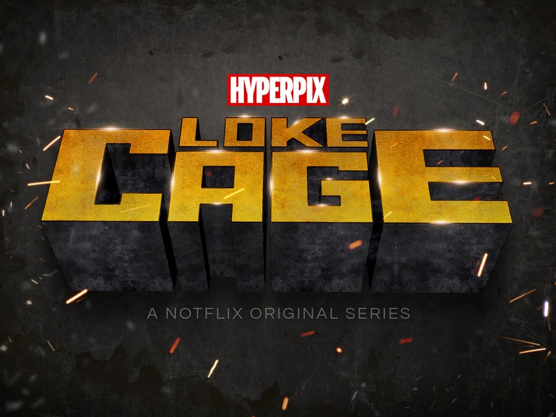 Luke Cage Text Effect comic super hero superhero hollywood cinematic 3d text movie design title 3d typography text styles text effect template logo psd mock-up download photoshop mockup