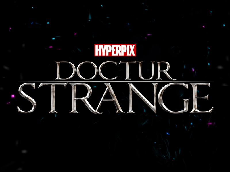 Doctor Strange Text Effect film super hero superhero cinematic hollywood 3d text movie design title 3d typography text styles text effect template psd logo mock-up download photoshop mockup