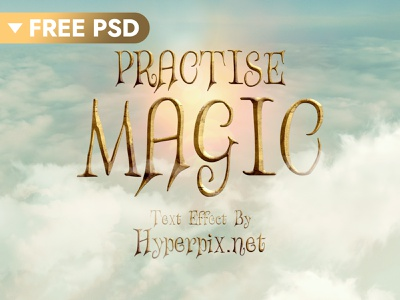 [FREE DOWNLOAD] Fantasy Text Effect film freebie free hollywood cinematic 3d text movie design title 3d typography text styles text effect template logo psd mock-up download photoshop mockup