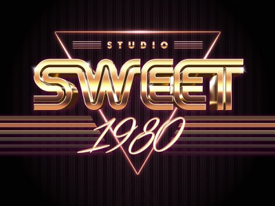 80s Retro Text Effects synthwave futuristic 1980 retro film 80s style 80s 3d text design title 3d typography text styles text effect mock-up logo psd photoshop download mockup
