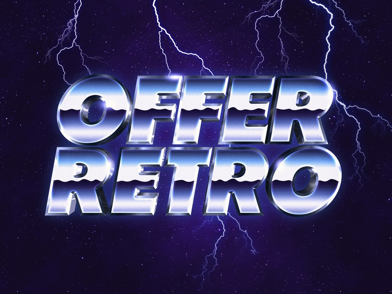 80s Text Effect vintage synthwave futuristic 1980 movie 80s retro 3d text cinematic title typography text styles template text effect logo mock-up download mockup psd photoshop