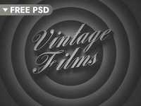 [FREE DOWNLOAD] Old Movie 3D Title