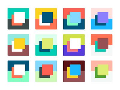 Colors! ryan brock combination illustration palette branding colors