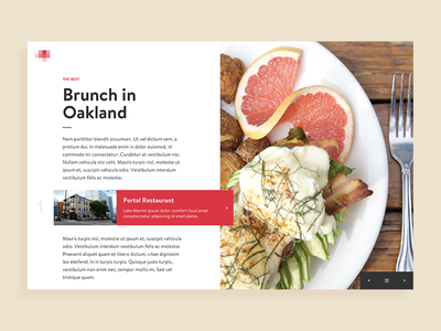 OpenTable - Restaurant List Exploration opentable layout interactive gallery profile explore list browse breakfast brunch dining restaurant food
