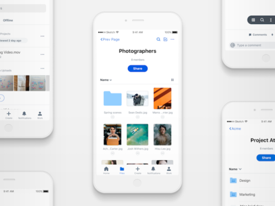 A new mobile Dropbox work android ios ux mobile dropbox