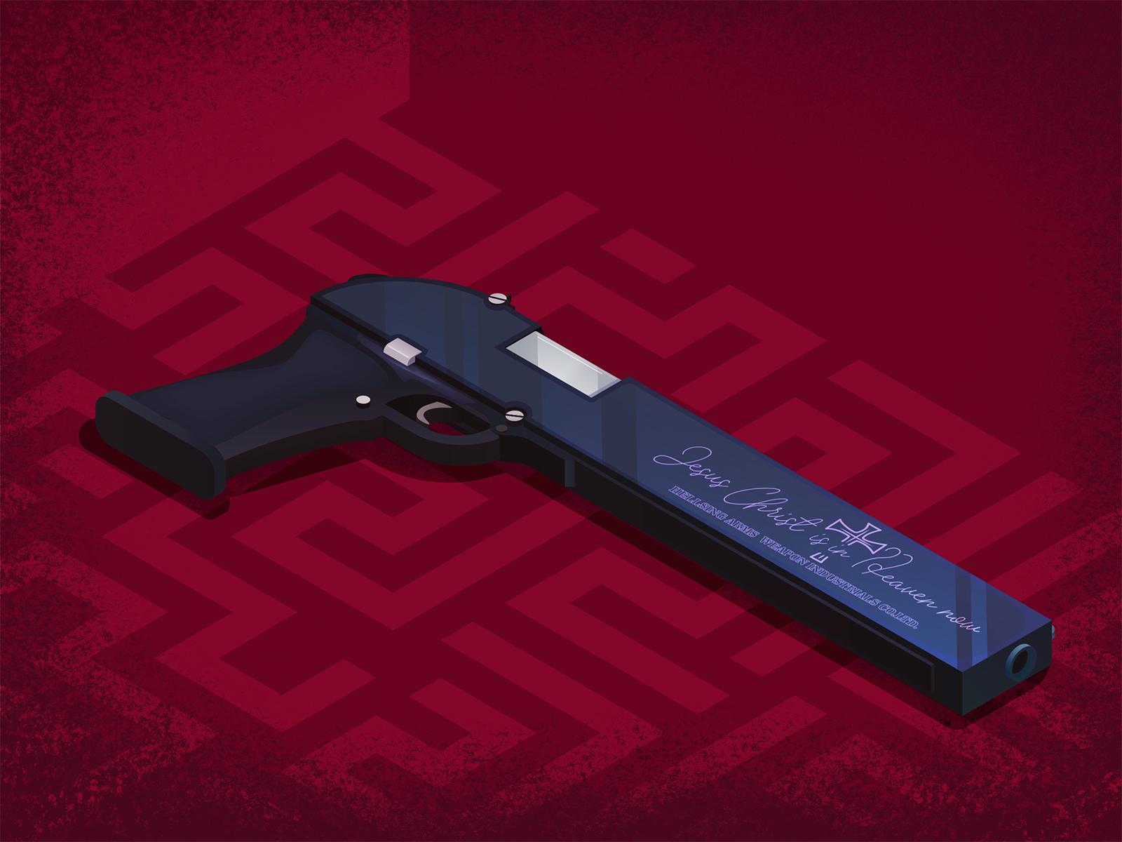 25+ Jackal Hellsing Gun Pics
