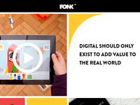 Fonk's new homepage