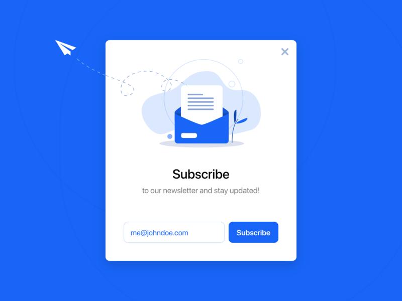 Subscribe 026 design productdesign dailyui ux ui