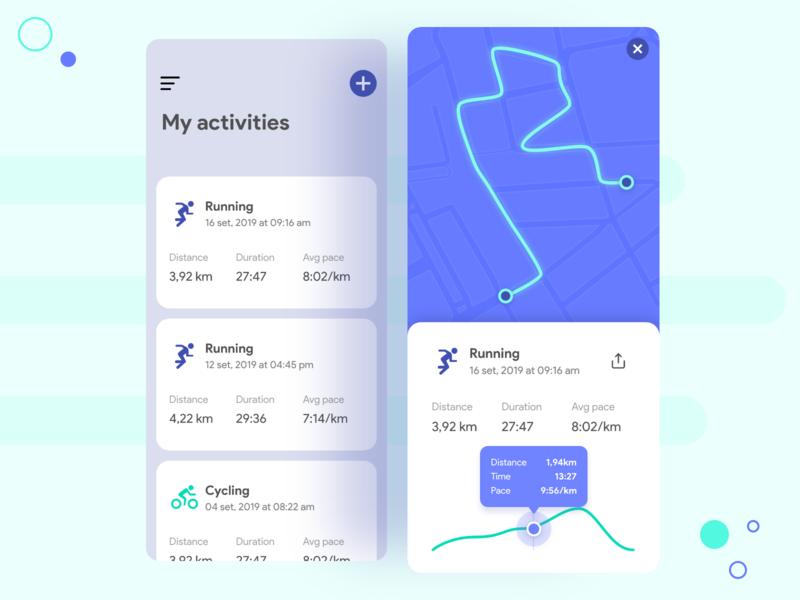 Map mobile app mobile productdesign dailyui ui ux