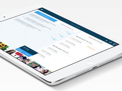 iPad Dashboard