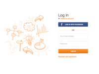 Log In Illustration